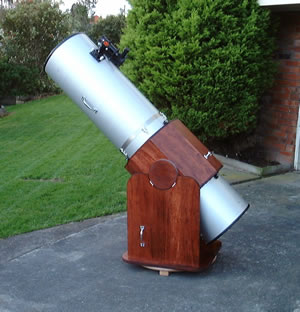 13 Inch Homemade Dobsonian Telescope As it was at First Light 2001